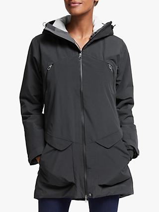 Haglöfs Torsång Women's Waterproof Parka Jacket, True Black
