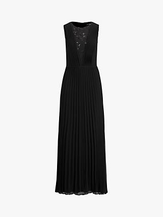 Lauren Ralph Lauren Lalita Sleeveless Maxi Dress, Shine Black