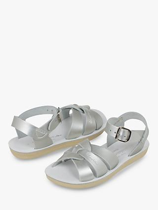Salt-Water Children's Swimmer Sandals, Silver