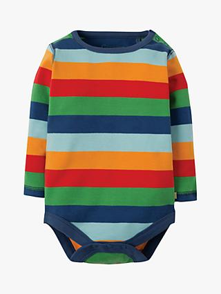 45123983b9 Frugi Baby Organic Cotton Stripe Bodysuit