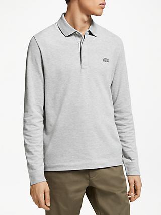a88353709d41 Lacoste Long Sleeve Paris Polo Shirt