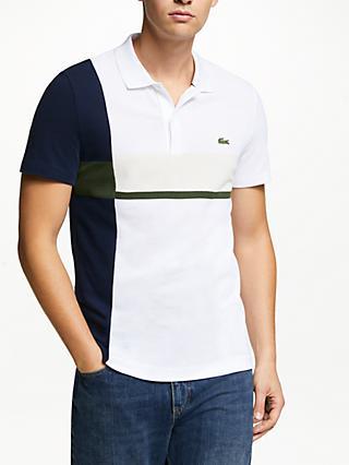 685e8b4ac21 Lacoste Retro Short Sleeve Polo Shirt