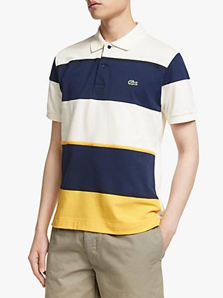 f96b00356 Lacoste Colour Block Short Sleeve Polo Shirt