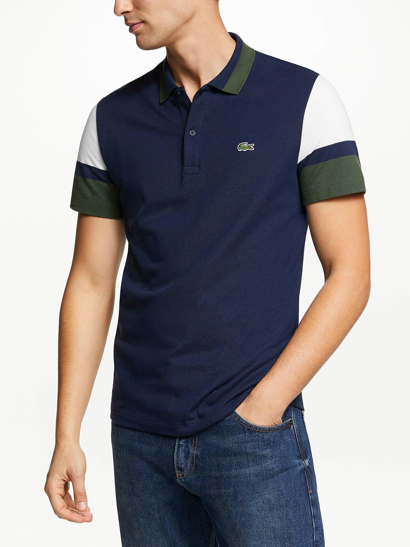 3747ac1bcd9 Buy Lacoste Colour Block Short Sleeve Polo Shirt