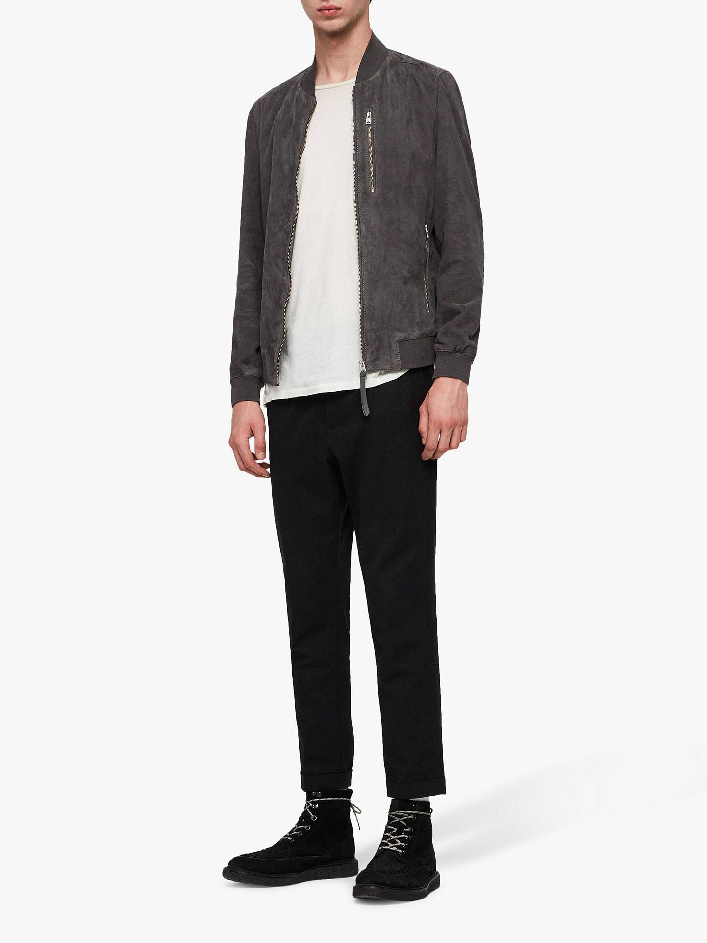 ae60191b10 Buy AllSaints Kemble Suede Slim Fit Bomber Jacket