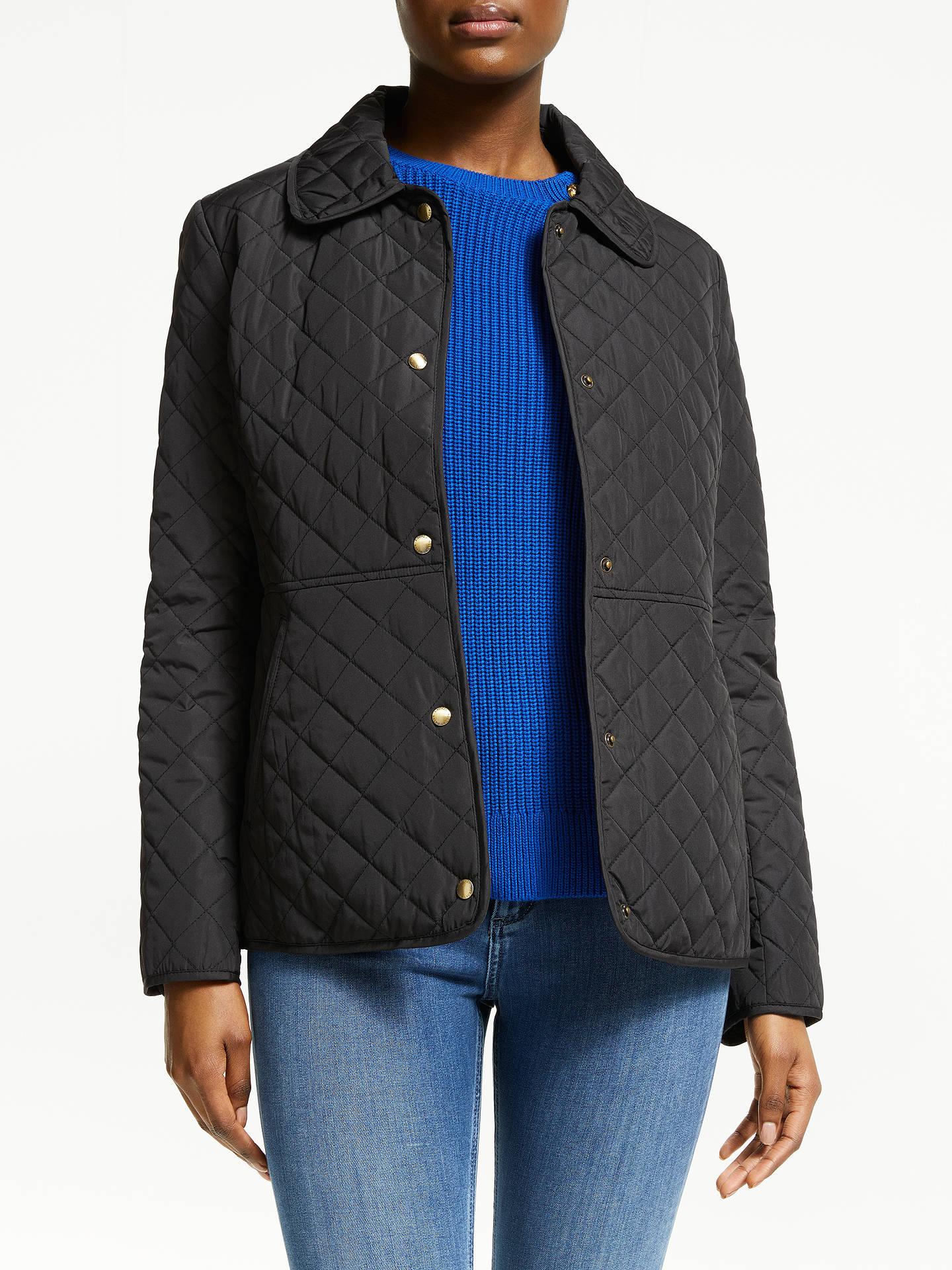 c2f6dafb7e2c Buy Lauren Ralph Lauren Quilted Jacket, Black, L Online at johnlewis.com ...