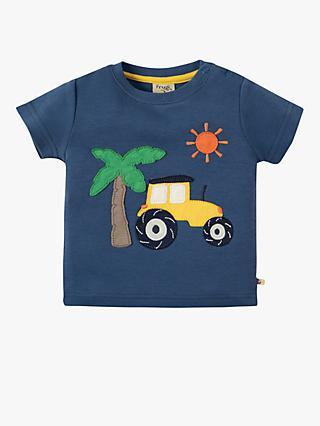 75694e18641 Frugi Baby Organic Cotton Tractor T-Shirt