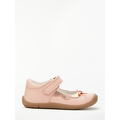 Image of John Lewis & Partners Children's Kitty Mary Jane Shoes, Pink