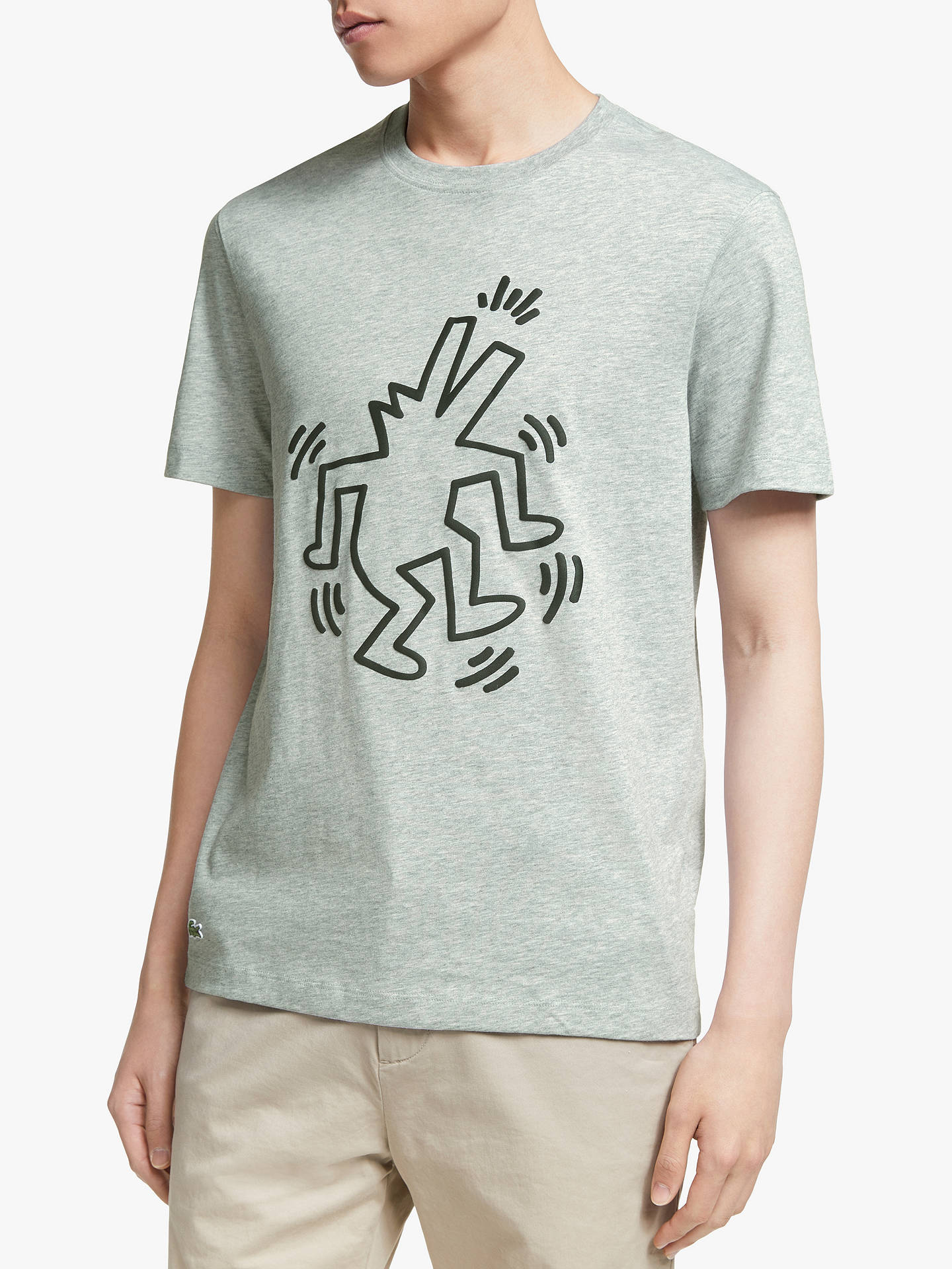 lacoste x keith haring graphic t shirt at john lewis. Black Bedroom Furniture Sets. Home Design Ideas