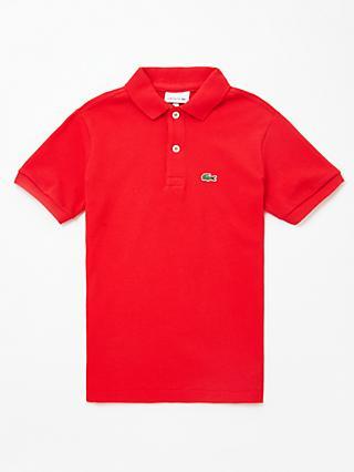 72e9e6fdee8 Lacoste Boys  Polo Shirt