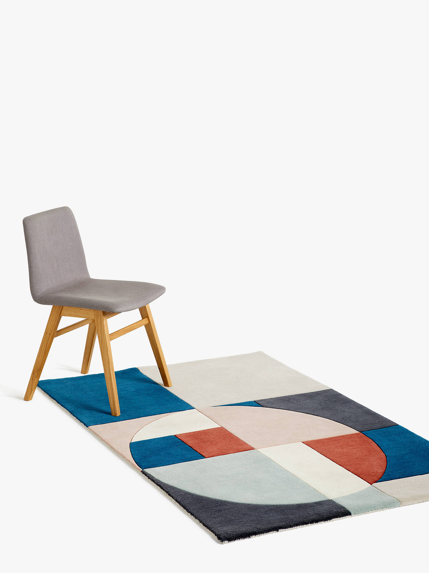 Buy John Lewis & Partners Tia Rug, Kingfisher, L120 x W180 cm Online at johnlewis.com