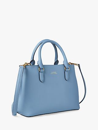 Lauren Ralph Lauren Mini Marcy II Satchel, Cosmic Blue