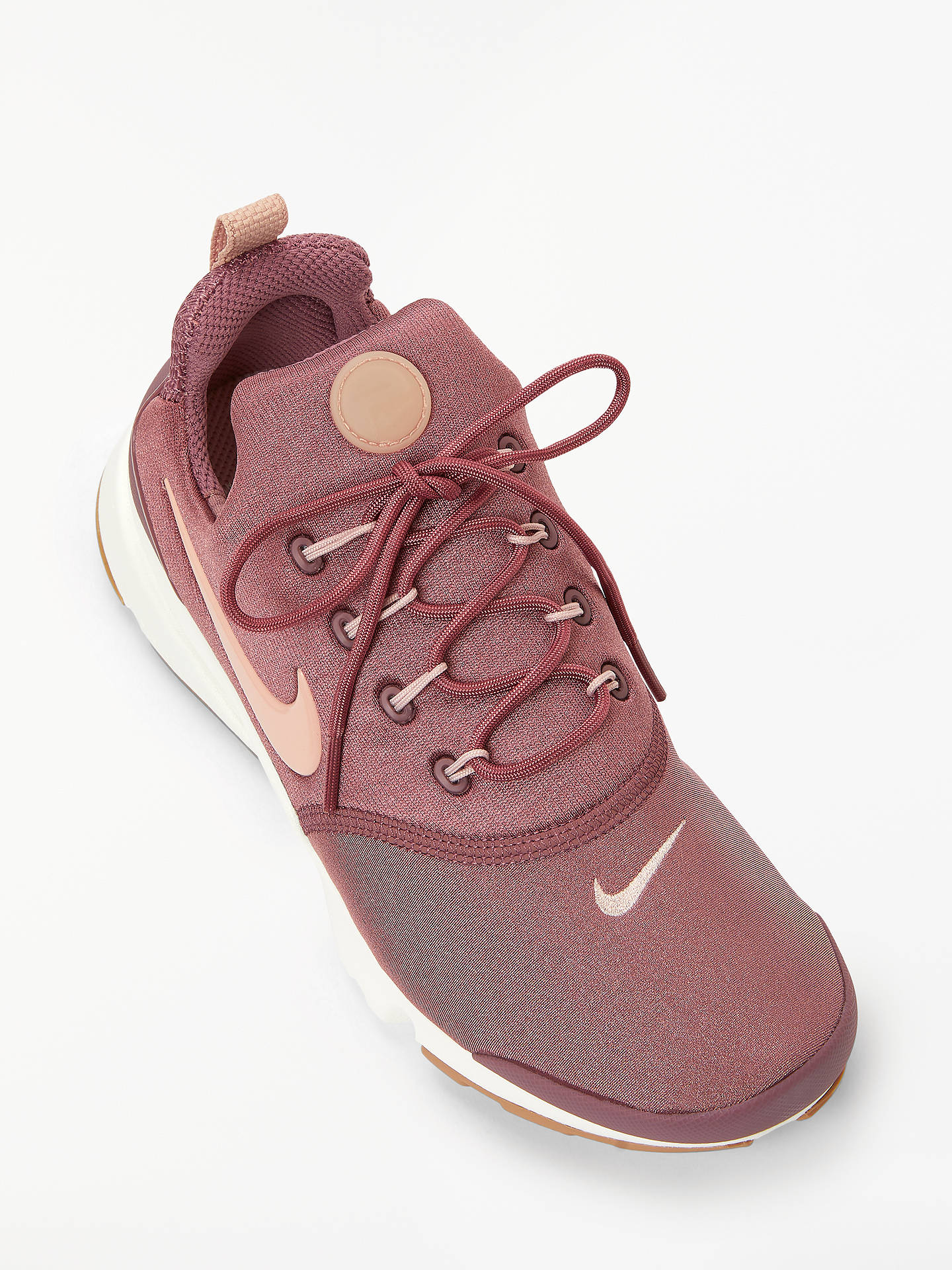 quality design db164 ca020 Nike Presto Fly Women's Trainers, Smokey Mauve/Particle Beige