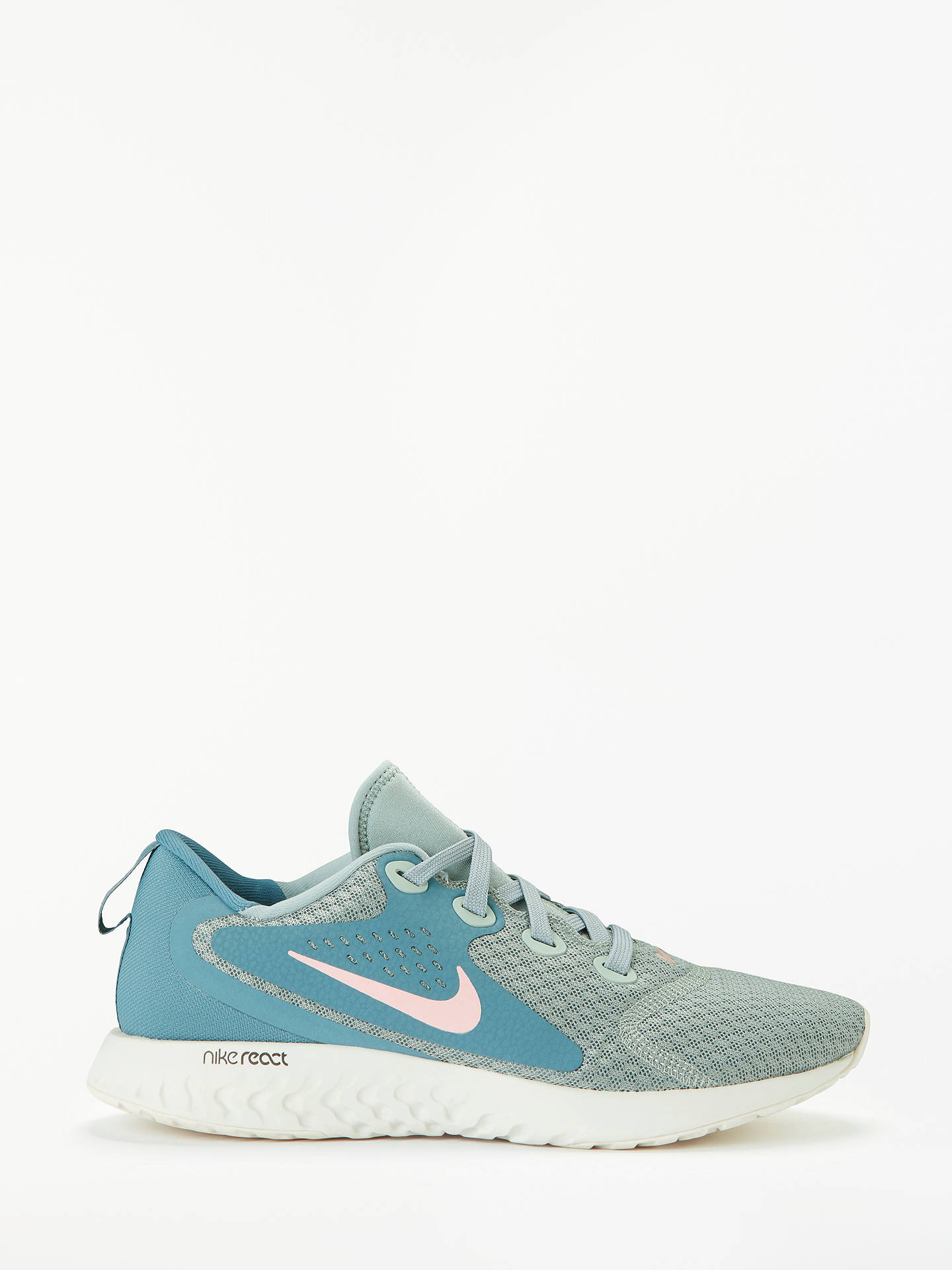 huge discount a93d9 f0ca1 Buy Nike Legend React Women s Running Shoe, Mica Green Rust Pink Celestial  Teal ...