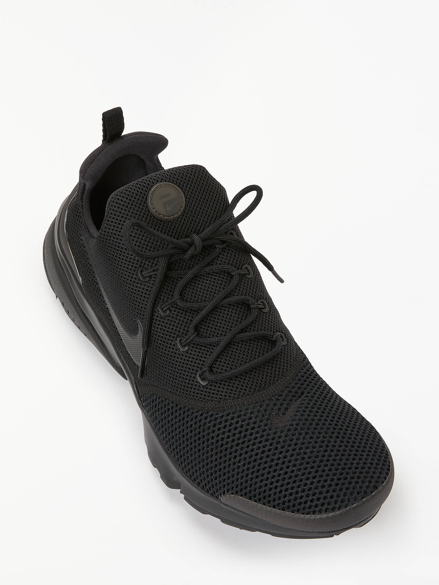 Nike Presto Fly Men's Trainers, Black at John Lewis & Partners