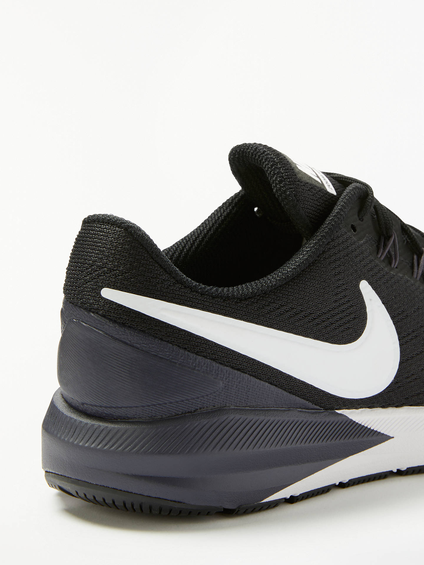 Nike Air Zoom Structure 22 Women's Running Shoes, Black