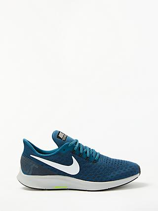 Nike Air Zoom Pegasus 35 Men's Running Shoes, Blue Force/White/Wolf Grey
