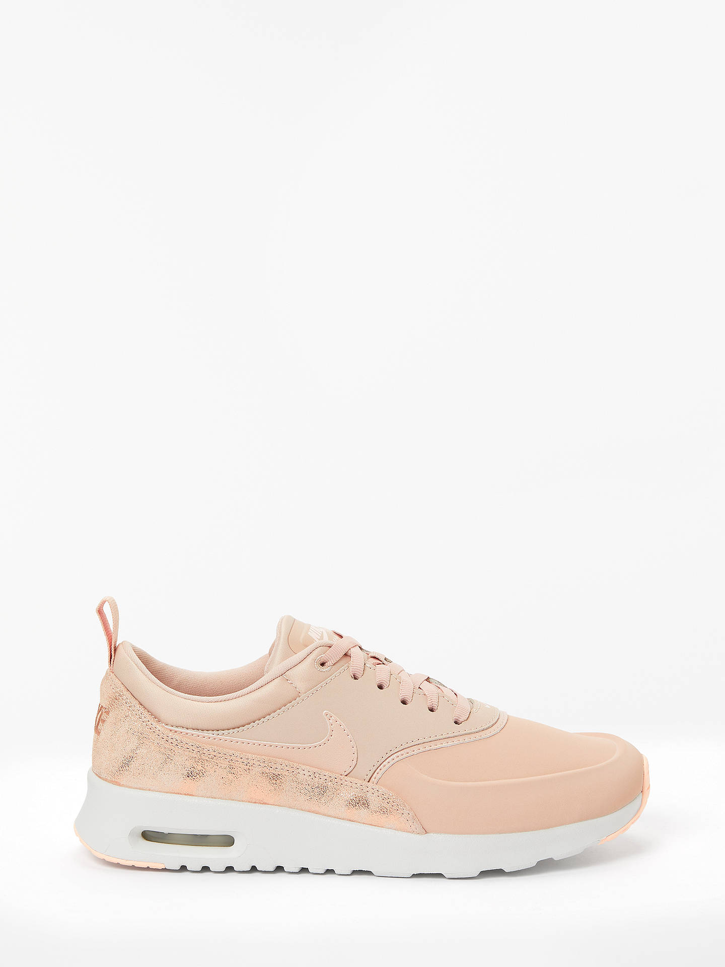 017bc57d3d Buy Nike Air Max Thea Premium Women's Trainers, Particle Beige, 4 Online at  johnlewis ...