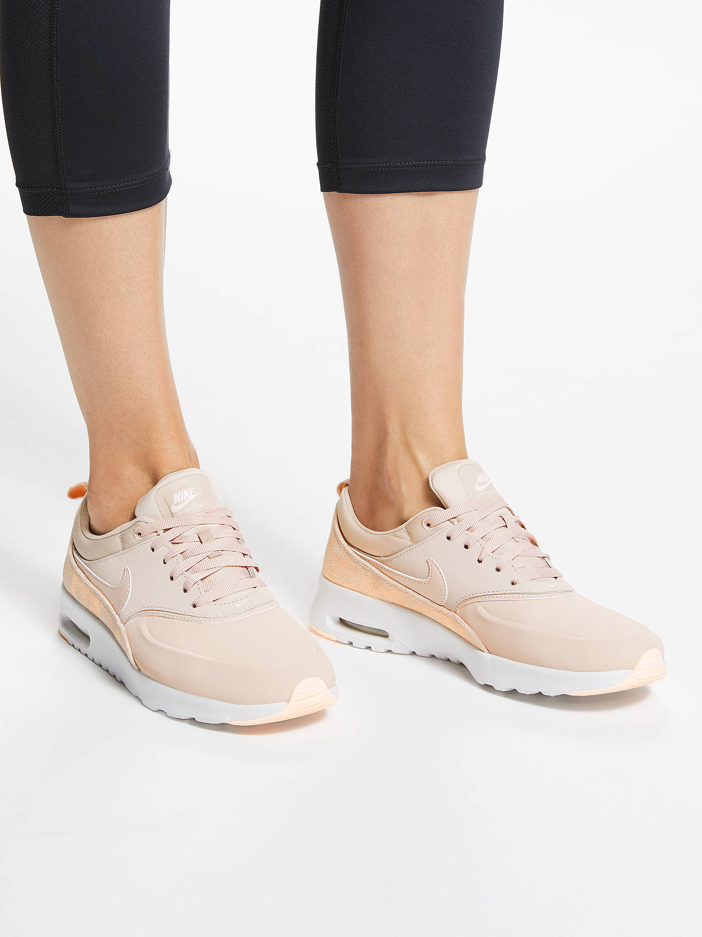 Nike Air Max Thea Premium Women's Trainers, Particle Beige