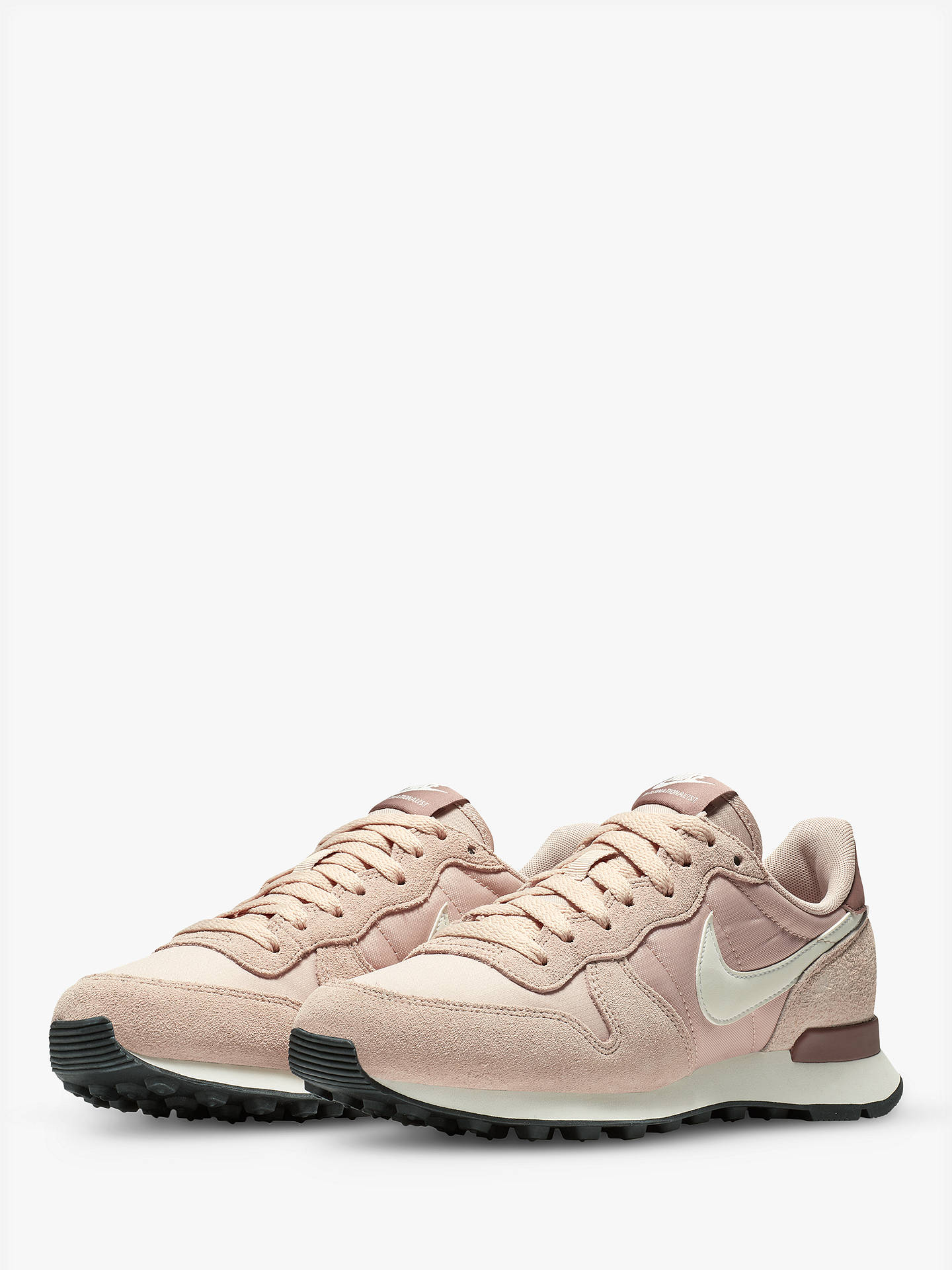 abef2c3d5f ... Buy Nike Internationalist Women's Trainers, Particle Beige/Summit White/Smokey  Mauve, 4 ...