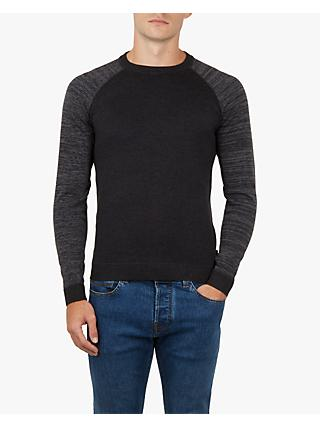 Ted Baker Cornfed Space Dye Crew Neck Top