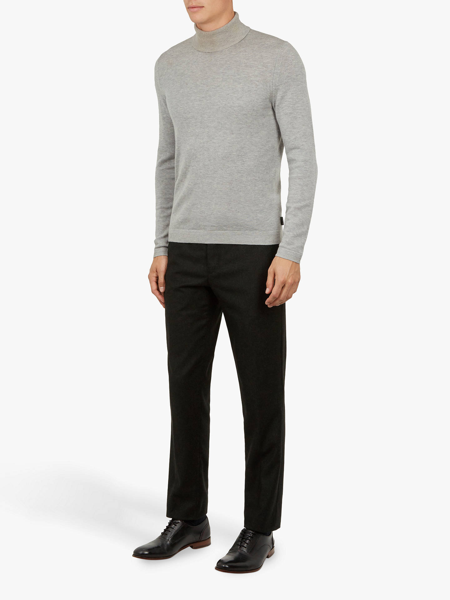 BuyTed Baker Matztro Core Trousers, Dark Green, 32R Online at johnlewis.com