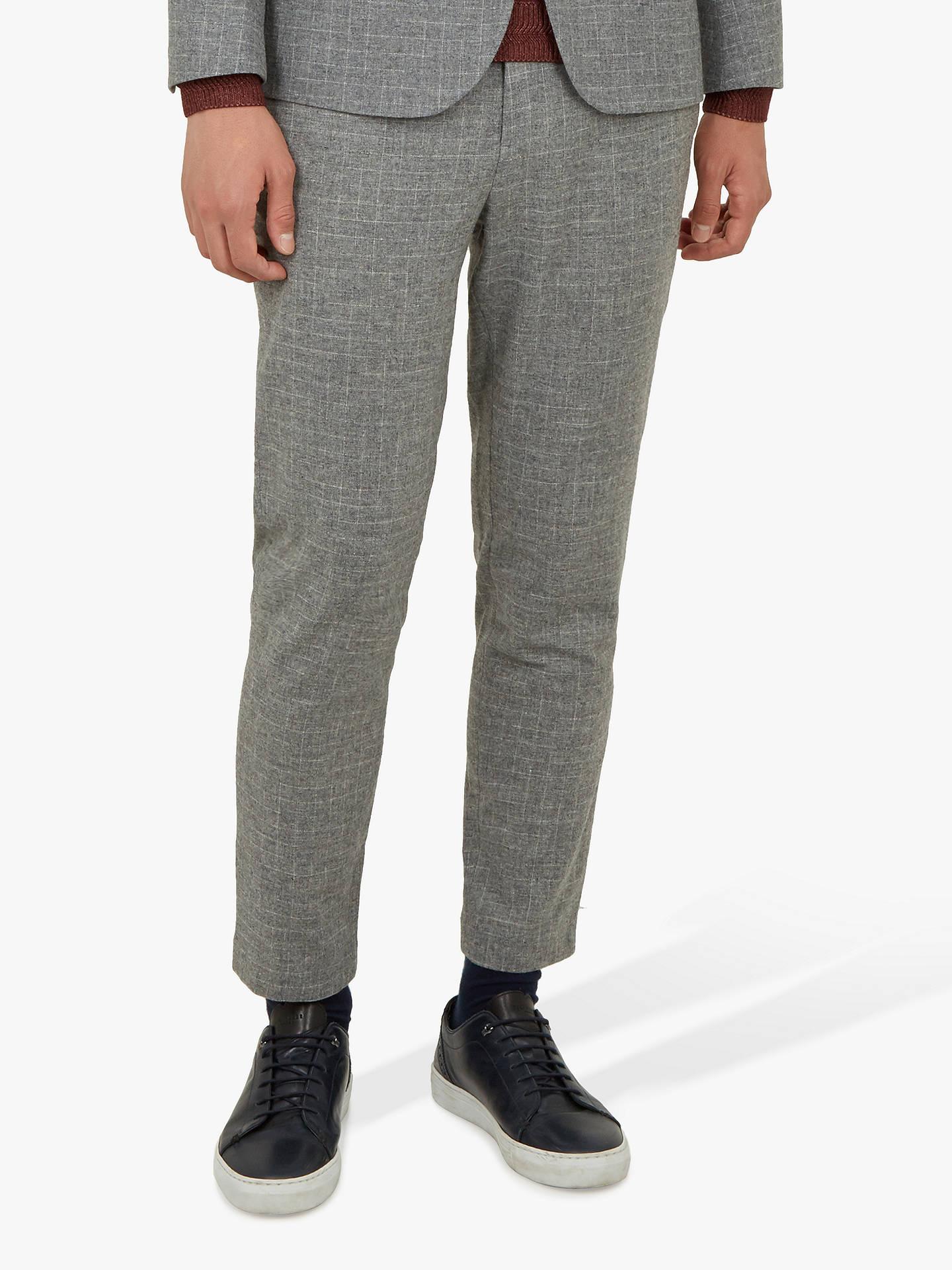 af548f2b84fd0 Buy Ted Baker Zoltro Cross Hatch Wool Trousers