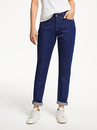 Lee Elly High Waist Slim Jeans, Blue Rinse