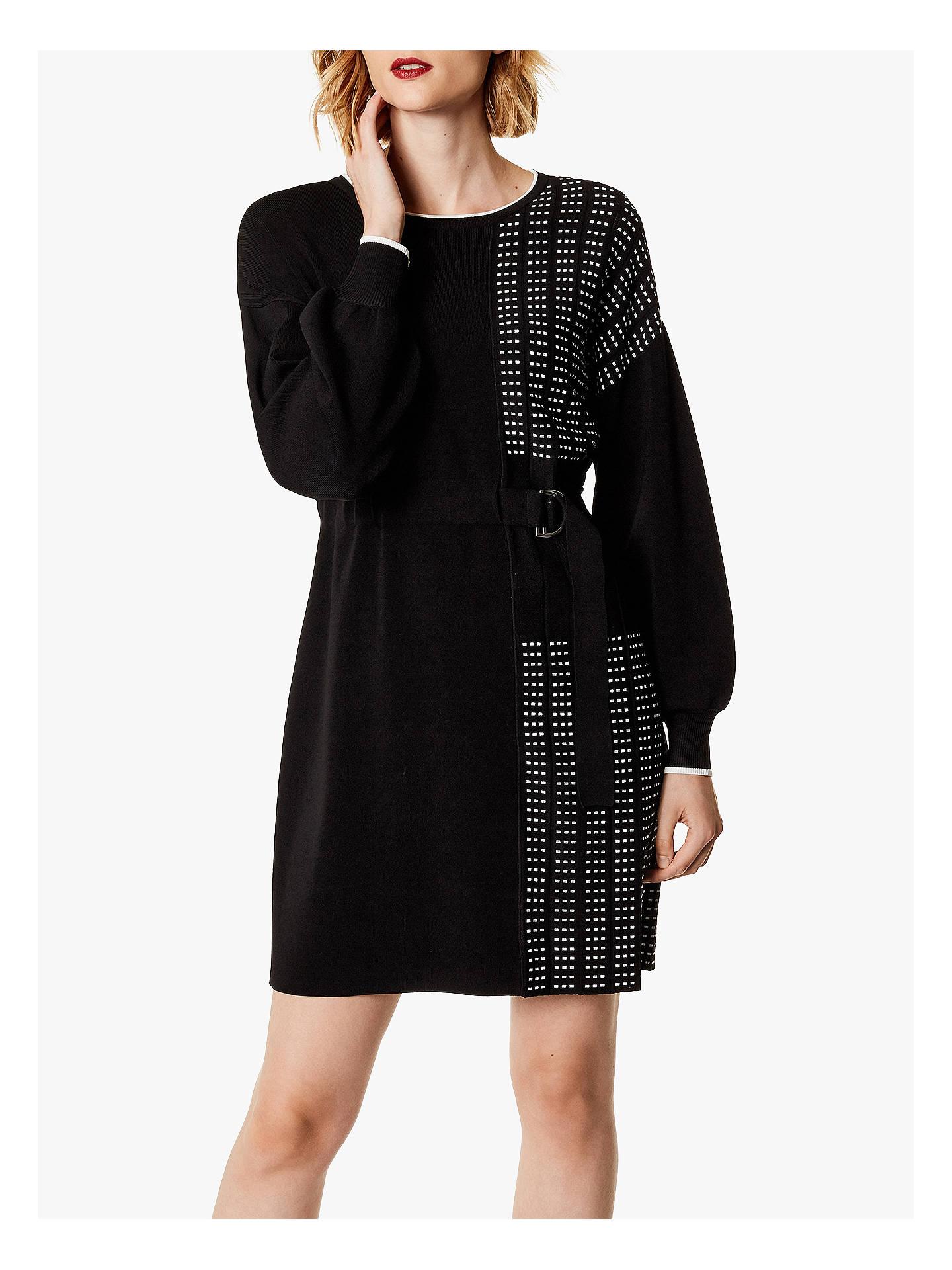 8b465ee8c16 Buy Karen Millen Half-Pleated Jumper Dress