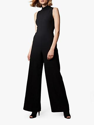Karen Millen Wide Leg Jumpsuit, Black
