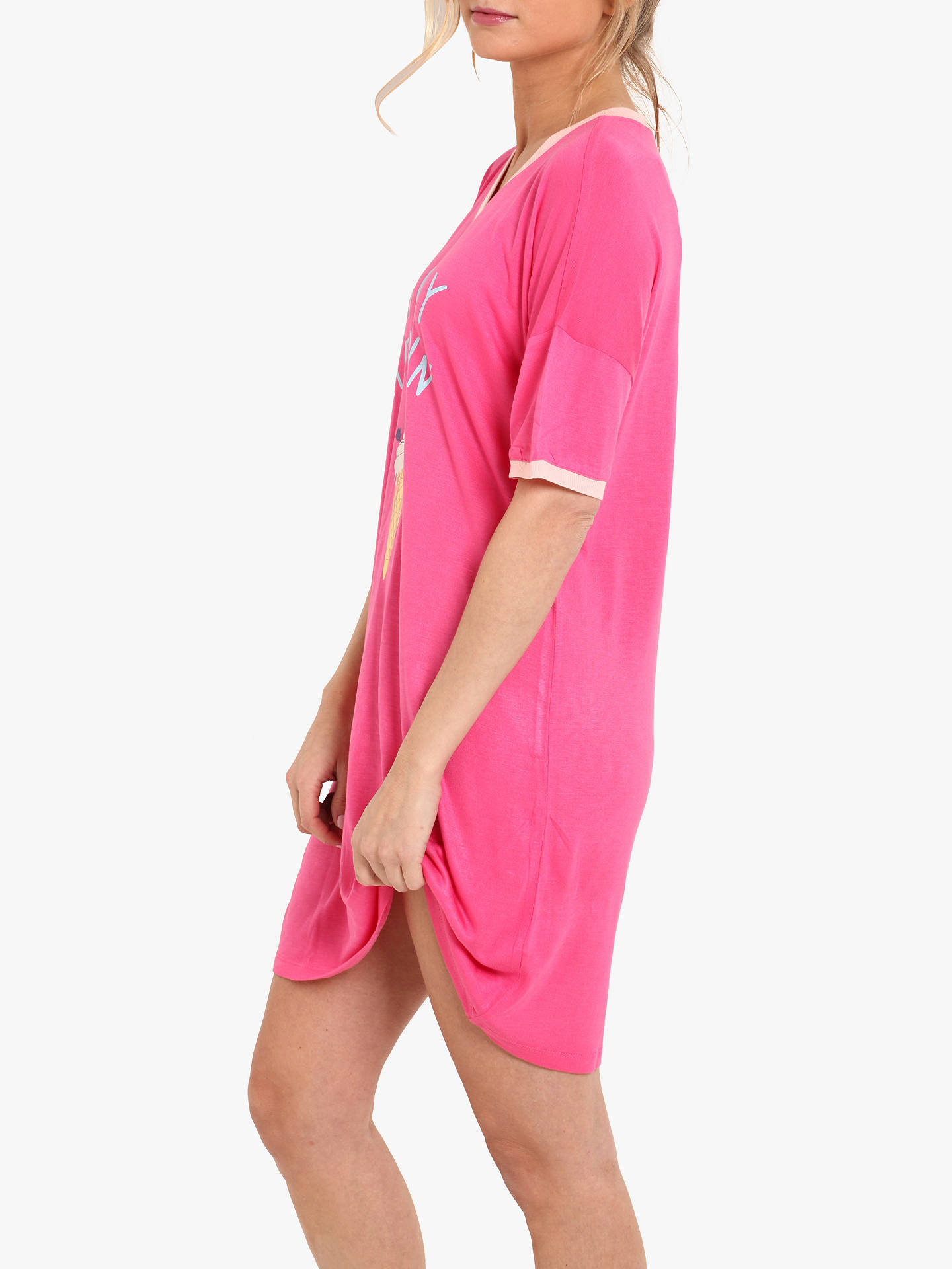 BuyChelsea Peers Monday Meltdown Nightdress, Pink, S Online at johnlewis.com