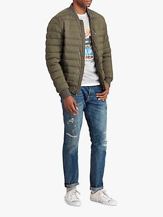 1279f1092f9ac Polo Ralph Lauren Varsity Down Jacket