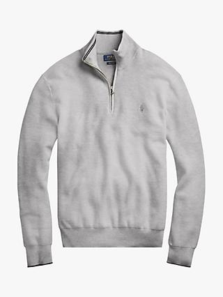 Polo Ralph Lauren Pima Cotton Half Zip Sweatshirt