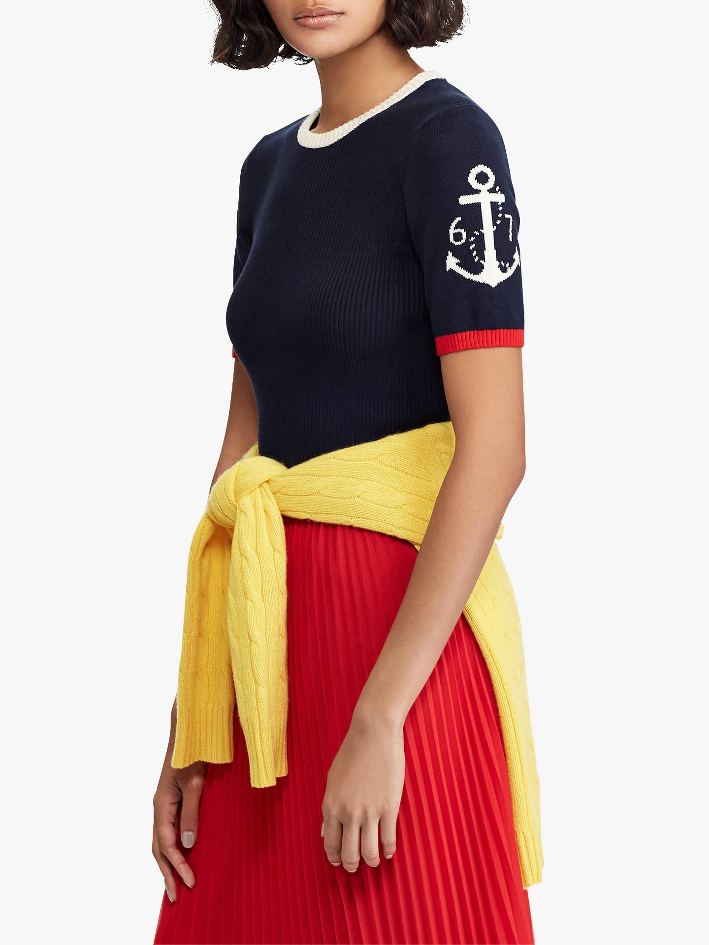 ecfdafb772bab Buy Polo Ralph Lauren Anchor Short Sleeve Sweatshirt