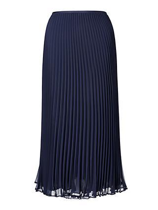 c06e144385 Polo Ralph Lauren Pleated Midi Skirt