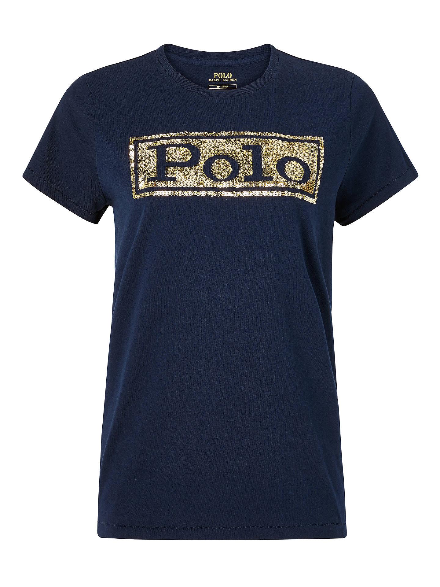 6e1dd5a066fb Buy Polo Ralph Lauren Sequin Logo T-Shirt