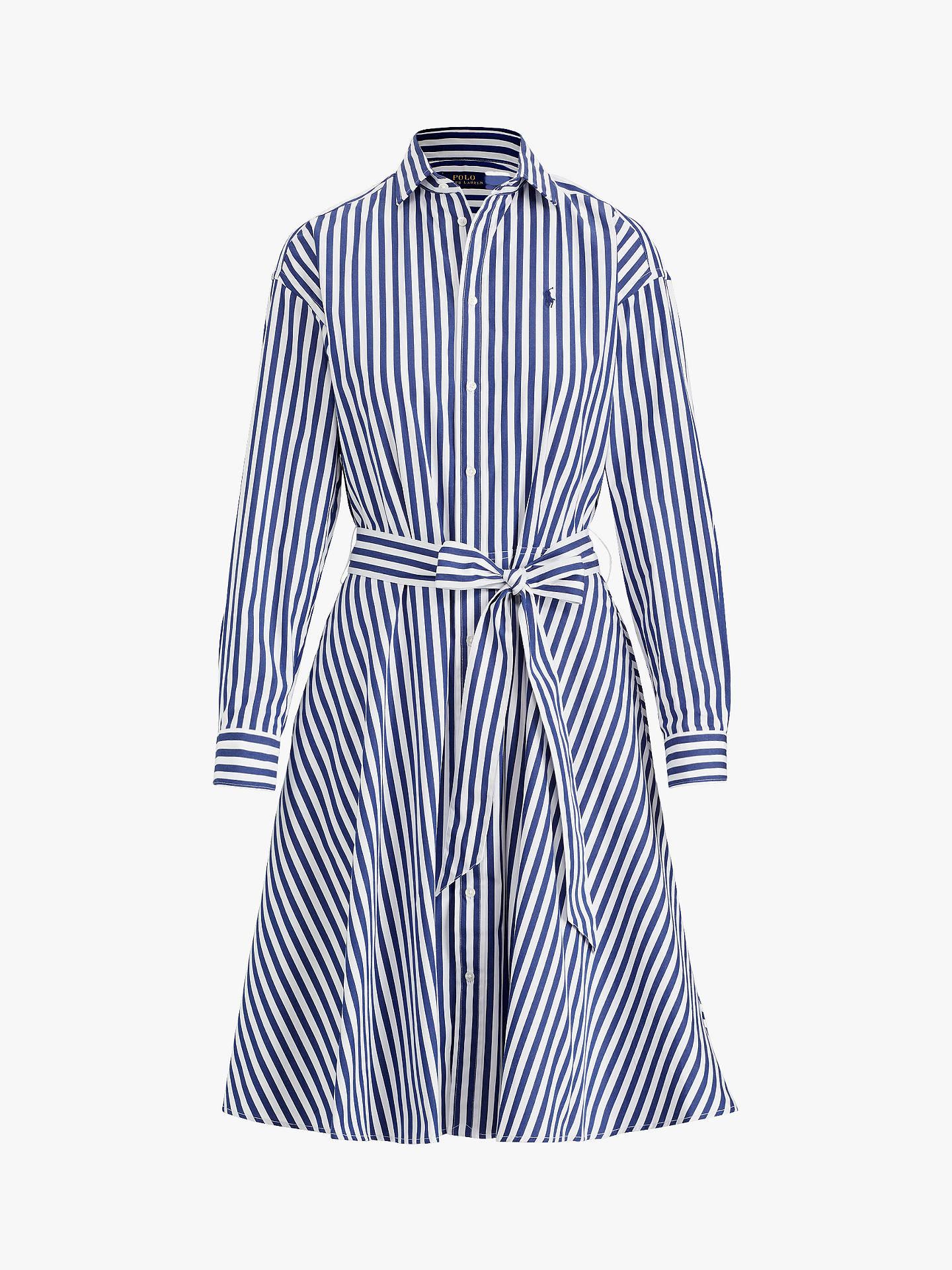Stripe John Lauren At Ralph Polo Shirt DressNavywhite Bengal H9DY2bIeWE