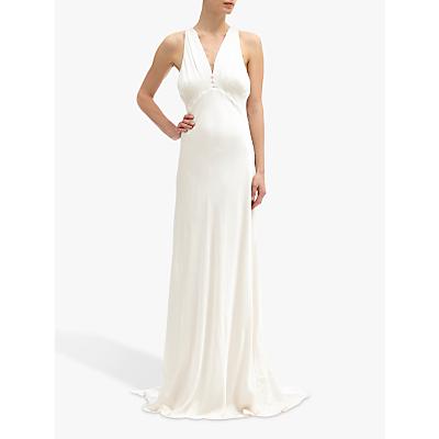Ghost Lily Dress, Chalk White