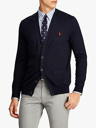 Polo Ralph Lauren Slim Fit Cardigan, Hunter Navy