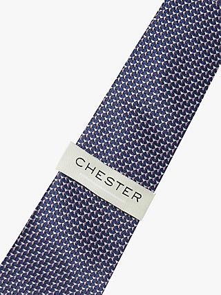 Chester by Chester Barrie Triangle Pattern Silk Tie, Multi