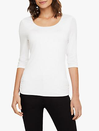 Phase Eight Salina Fitted Top, Ivory