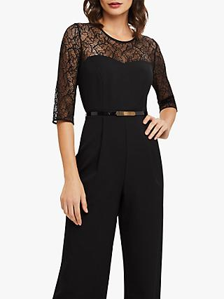 74ed1e8d62e Phase Eight Jasmine Lace Top Jumpsuit