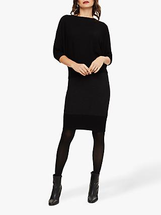 Phase Eight Becca Batwing Knit Jumper, Black