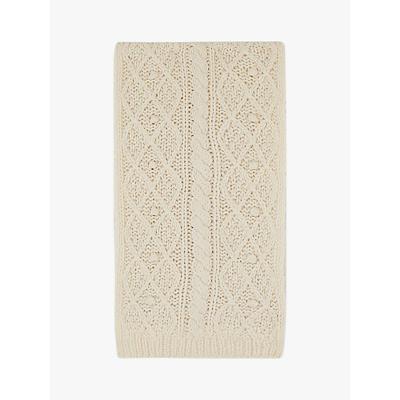 Gerard Darel Emily Wool Textured Knit Scarf