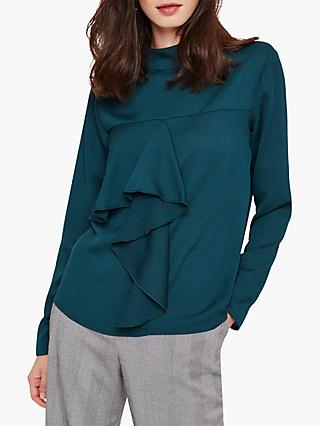 Damsel in a Dress Hayes Drape Front Blouse