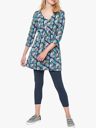 White Stuff Sky Lark Tunic, Navy Print