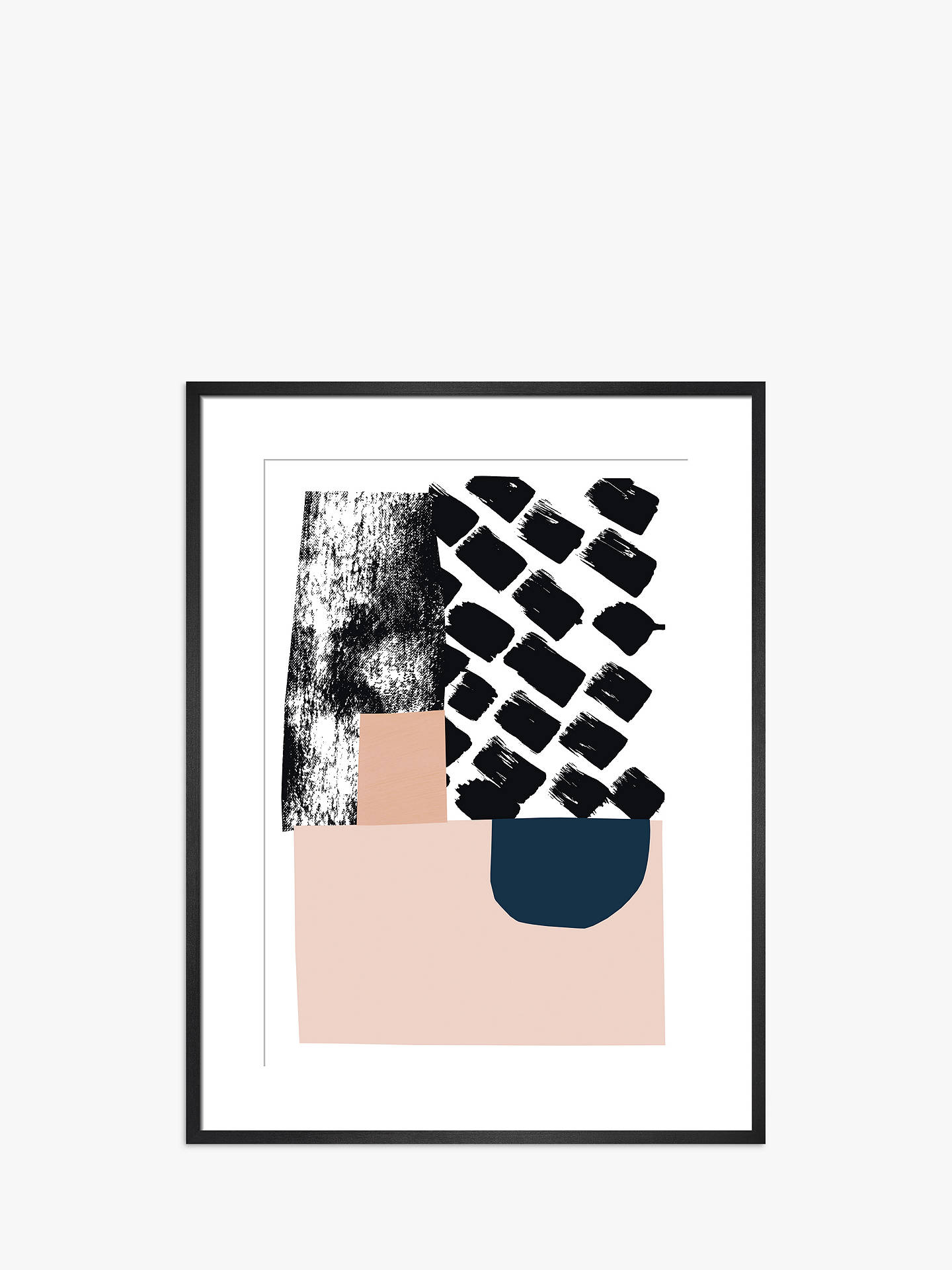 Buy Lizzie Hillier - Counter Balance, Black Framed Print, 60 x 45cm Online at johnlewis.com