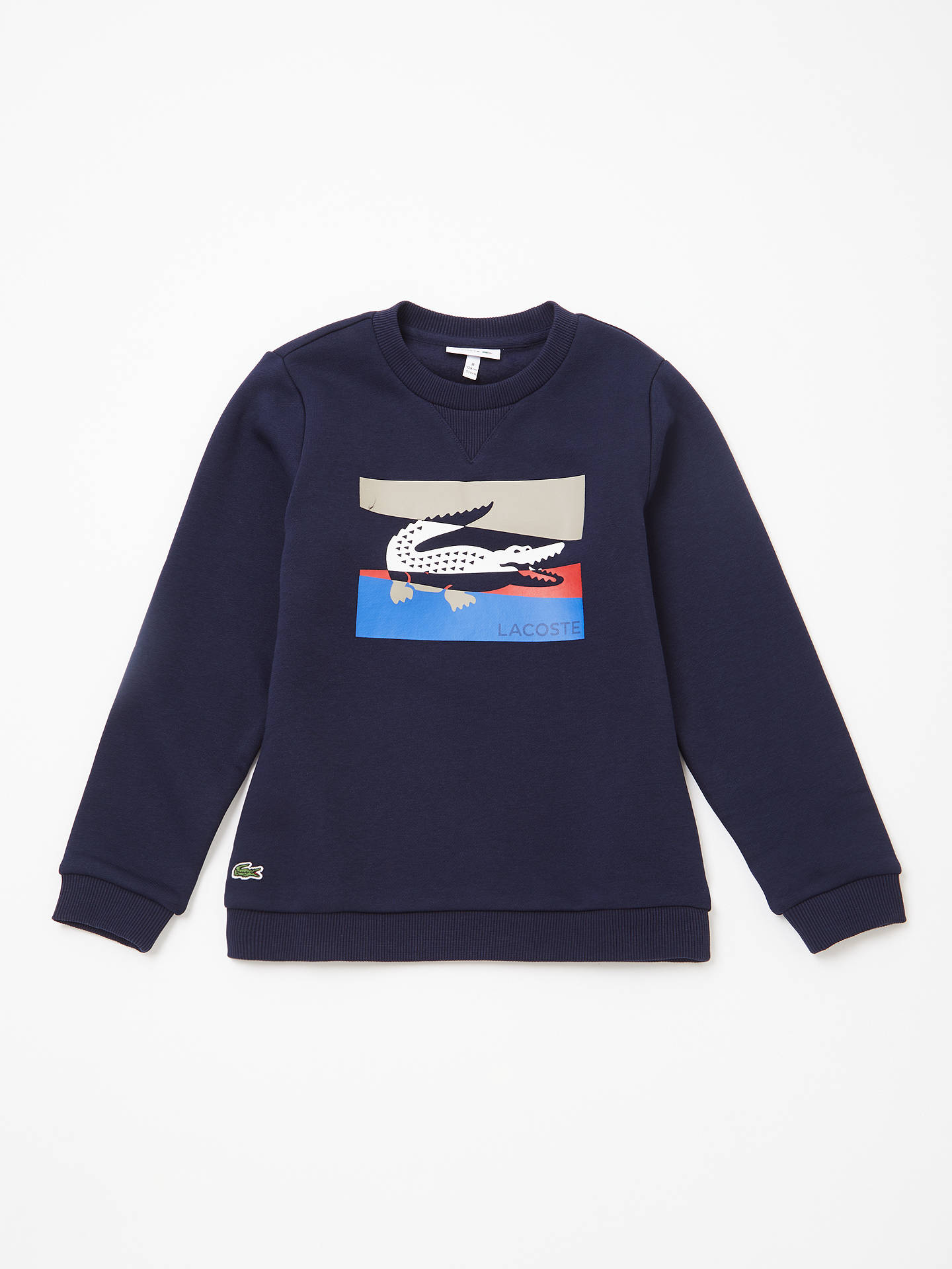29889d4bee13 Buy Lacoste Boys  Logo Sweatshirt