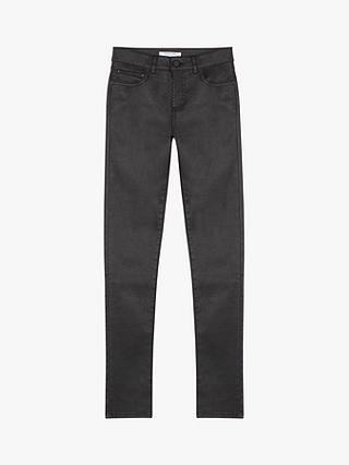 Buy Gerard Darel Gaby Skinny Cotton Jeans, Black, 18 Online at johnlewis.com