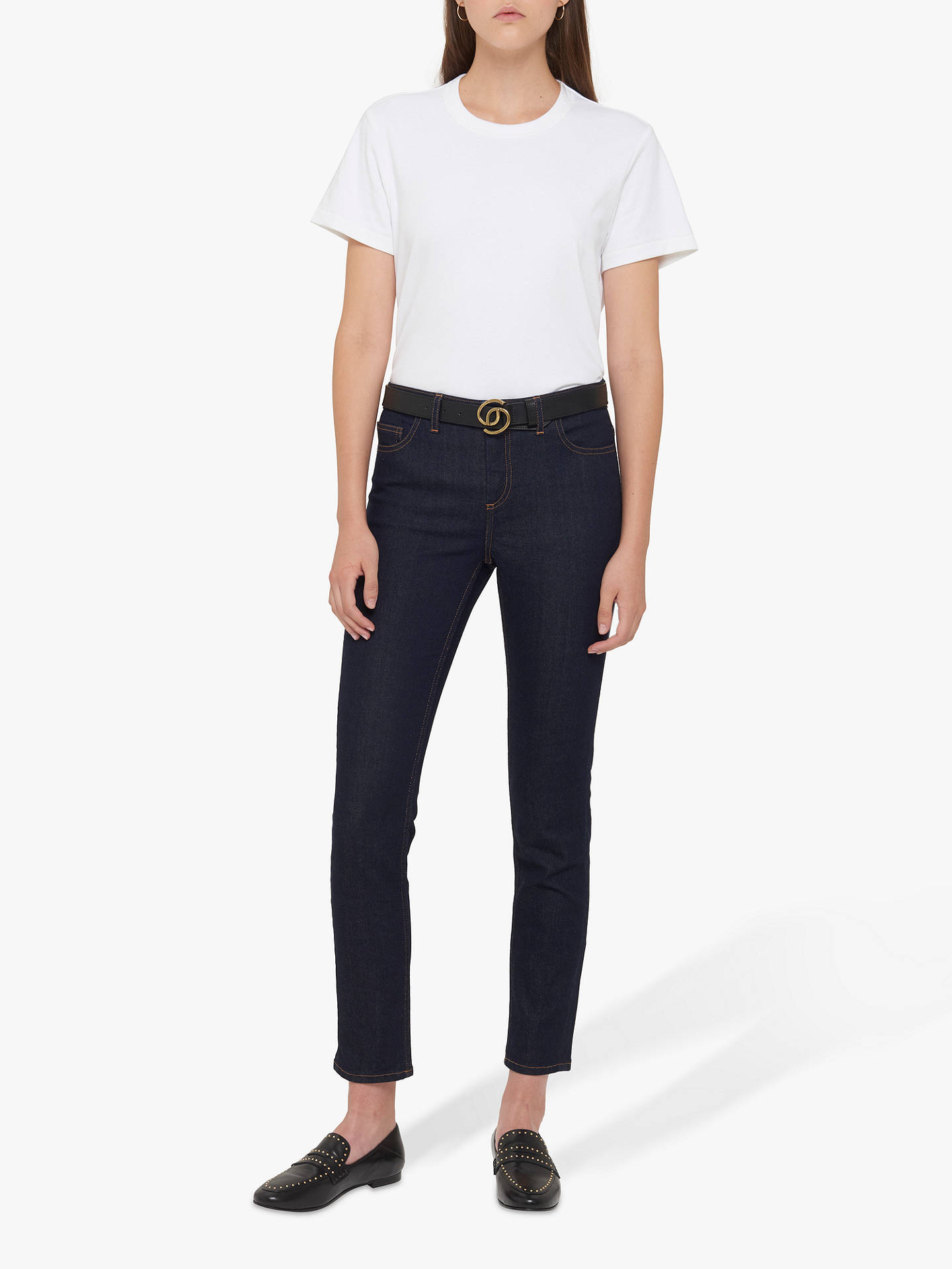 Gerard Darel Gail Jeans Blue At John Lewis Partners Shoes 12 Girl Buygerard Online